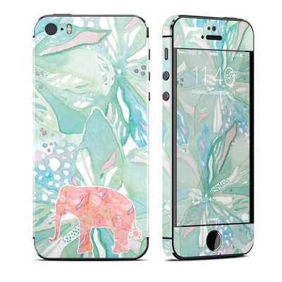 Apple iPhone 5S Skin - Tropical Elephant