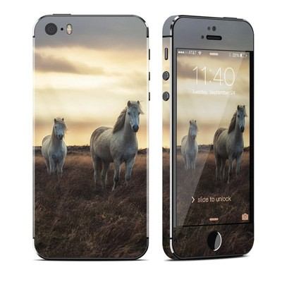 Apple iPhone 5S Skin - Hornless Unicorns