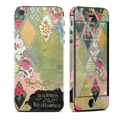 Apple iPhone 5S Skin - Unlearn