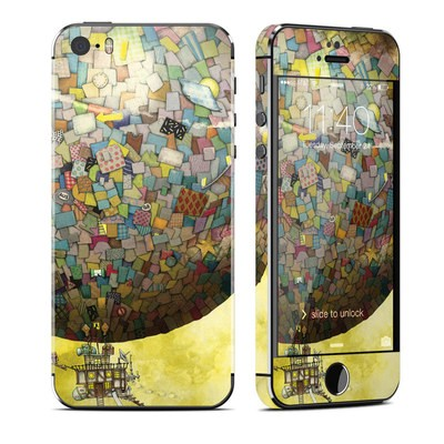 Apple iPhone 5S Skin - Up Up and Away