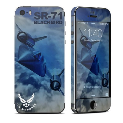 Apple iPhone 5S Skin - Blackbird