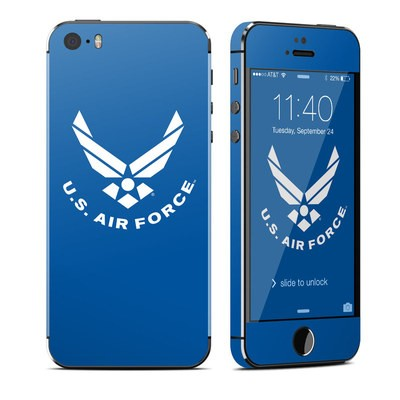 Apple iPhone 5S Skin - USAF Blue