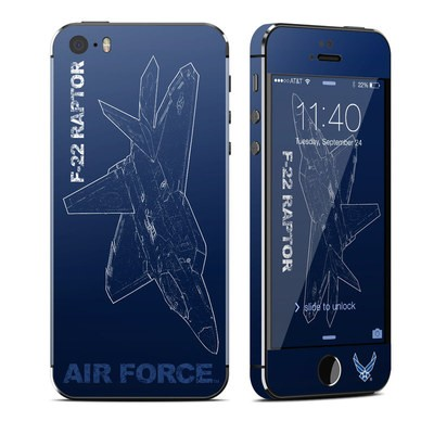 Apple iPhone 5S Skin - F-22 Raptor