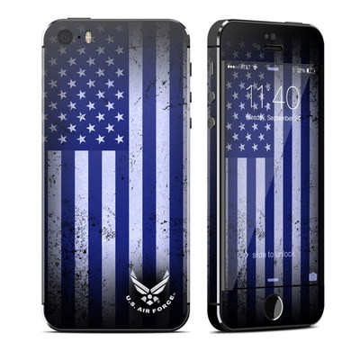 Apple iPhone 5S Skin - USAF Flag