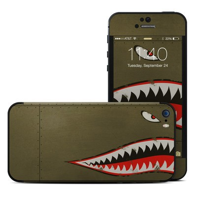 Apple iPhone 5S Skin - USAF Shark