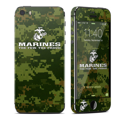 Apple iPhone 5S Skin - USMC Camo
