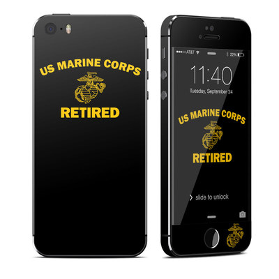 Apple iPhone 5S Skin - USMC Retired