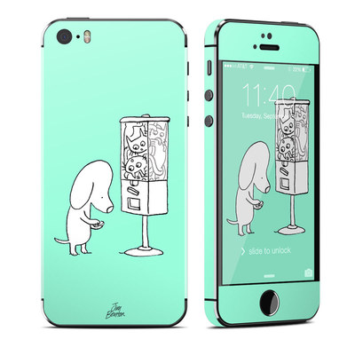 Apple iPhone 5S Skin - Vending