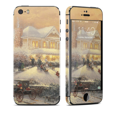 Apple iPhone 5S Skin - Victorian Christmas