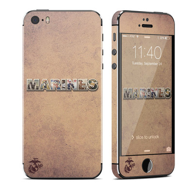 Apple iPhone 5S Skin - Vintage Poster