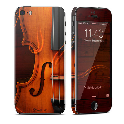 Apple iPhone 5S Skin - Violin