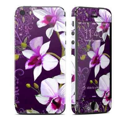 Apple iPhone 5S Skin - Violet Worlds