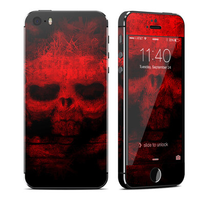 Apple iPhone 5S Skin - War
