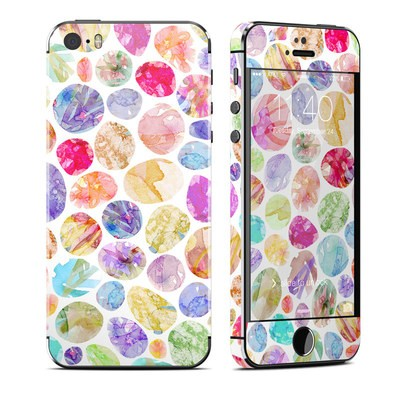 Apple iPhone 5S Skin - Watercolor Dots