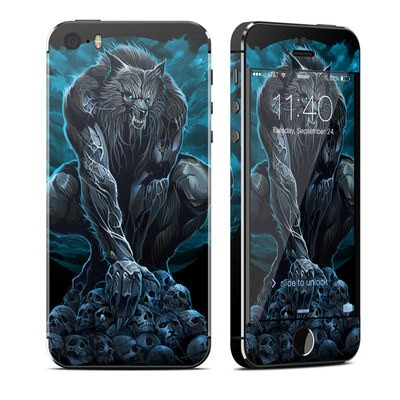 Apple iPhone 5S Skin - Werewolf
