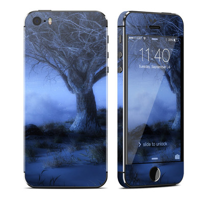 Apple iPhone 5S Skin - World's Edge Winter