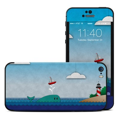 Apple iPhone 5S Skin - Whale Sail