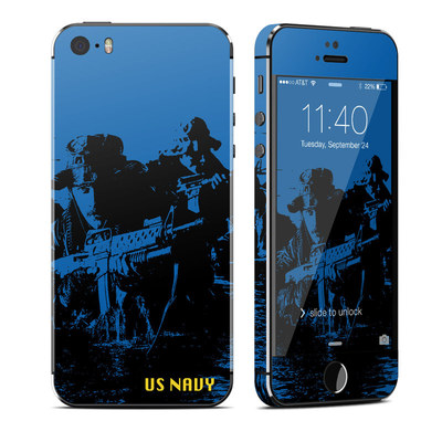 Apple iPhone 5S Skin - Water Heist