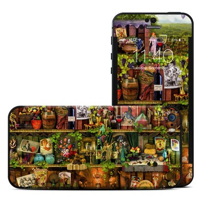 Apple iPhone 5S Skin - Wine Shelf