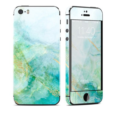 Apple iPhone 5S Skin - Winter Marble