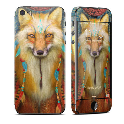 Apple iPhone 5S Skin - Wise Fox