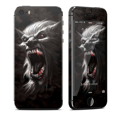 Apple iPhone 5S Skin - Wolfman
