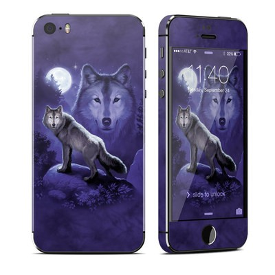 Apple iPhone 5S Skin - Wolf