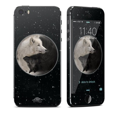 Apple iPhone 5S Skin - Wolf Zen
