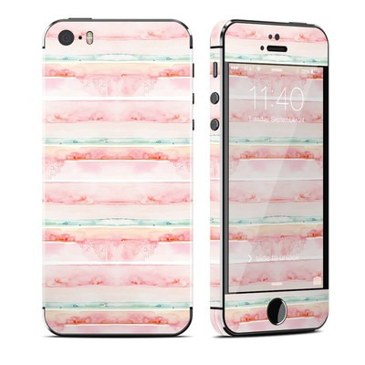 Apple iPhone 5S Skin - Watercolor Sunset
