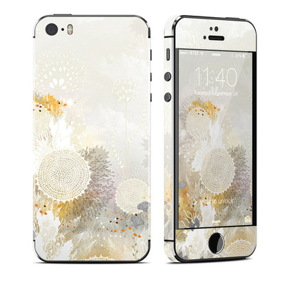 Apple iPhone 5S Skin - White Velvet