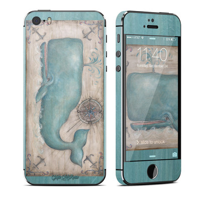 Apple iPhone 5S Skin - Whale Watch