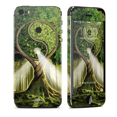 Apple iPhone 5S Skin - Yin Yang Tree
