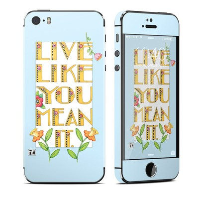 Apple iPhone 5S Skin - Mean It