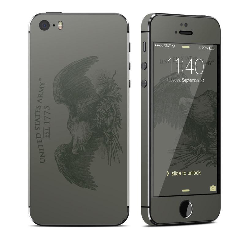 hot sales e349c 32e6b Apple iPhone 5S Skin - Army Crest
