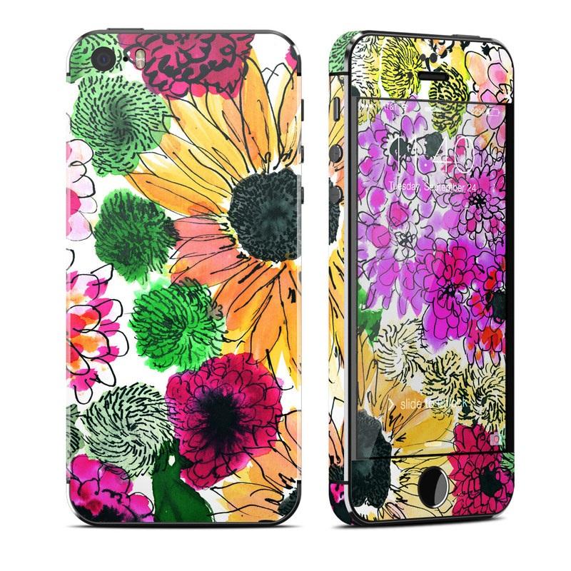 Apple iPhone 5S Skin - Fiore