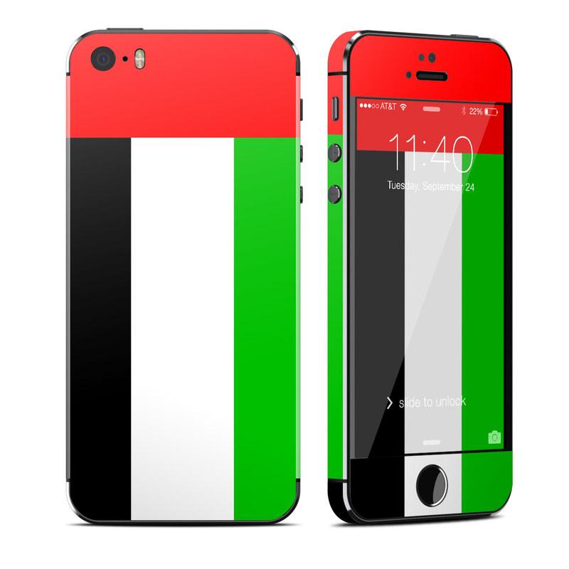 apple iphone 5s skin united arab emirates flag by flags decalgirl
