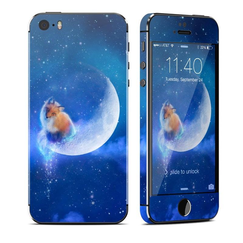 c46c0d380fe Apple iPhone 5S Skin - Moon Fox by Aimee Stewart | DecalGirl