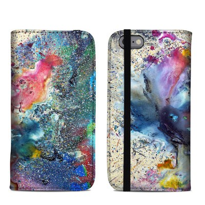 Apple iPhone 6 Folio Case - Cosmic Flower