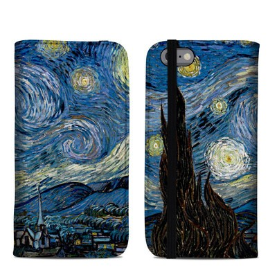 Apple iPhone 6 Folio Case - Starry Night