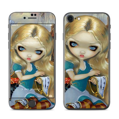 Apple iPhone 7 Skin - Alice in a Dali Dream