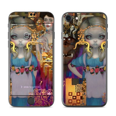Apple iPhone 7 Skin - Alice in a Klimt Dream