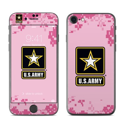 Apple iPhone 7 Skin - Army Pink
