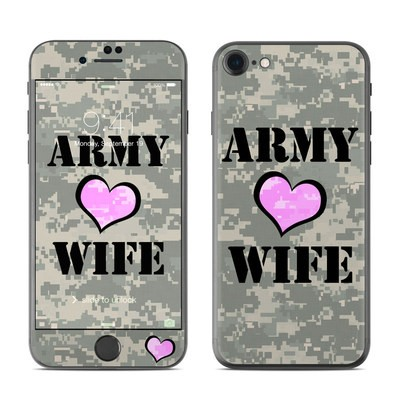 Apple iPhone 7 Skin - Army Wife