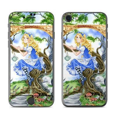 Apple iPhone 7 Skin - Alice's Tea Time