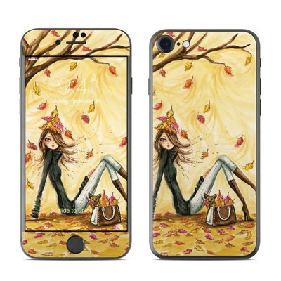 Apple iPhone 7 Skin - Autumn Leaves