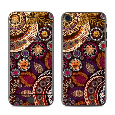 Apple iPhone 7 Skin - Autumn Mehndi