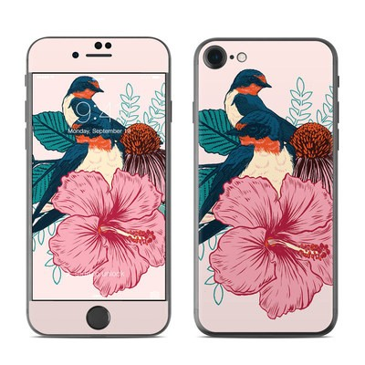 Apple iPhone 7 Skin - Barn Swallows