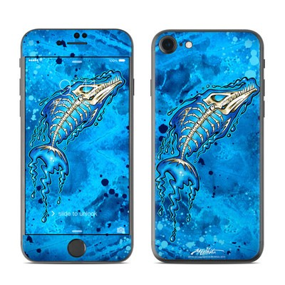Apple iPhone 7 Skin - Barracuda Bones