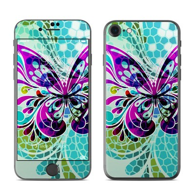 Apple iPhone 7 Skin - Butterfly Glass