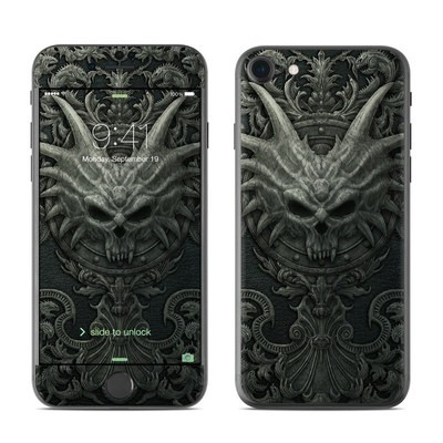 Apple iPhone 7 Skin - Black Book